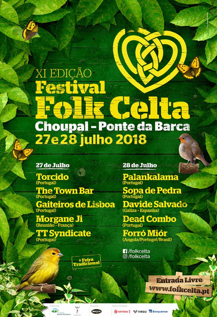 Festival Folk Celta Ponte da Barca (Portugal) 2018
