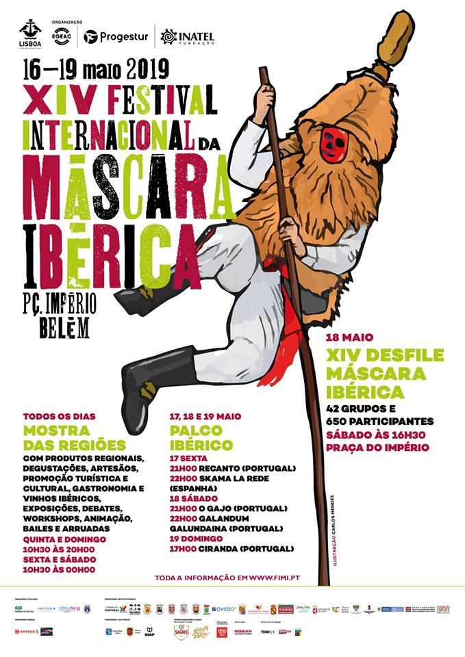 XIV FESTIVAL INTERNACIONAL DA MÁSCARA IBÉRICA (Lisboa, Portugal)