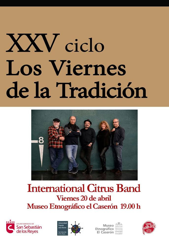 """La International Citrus Band hoy en """"Los Viernes de la Tradición"""""""