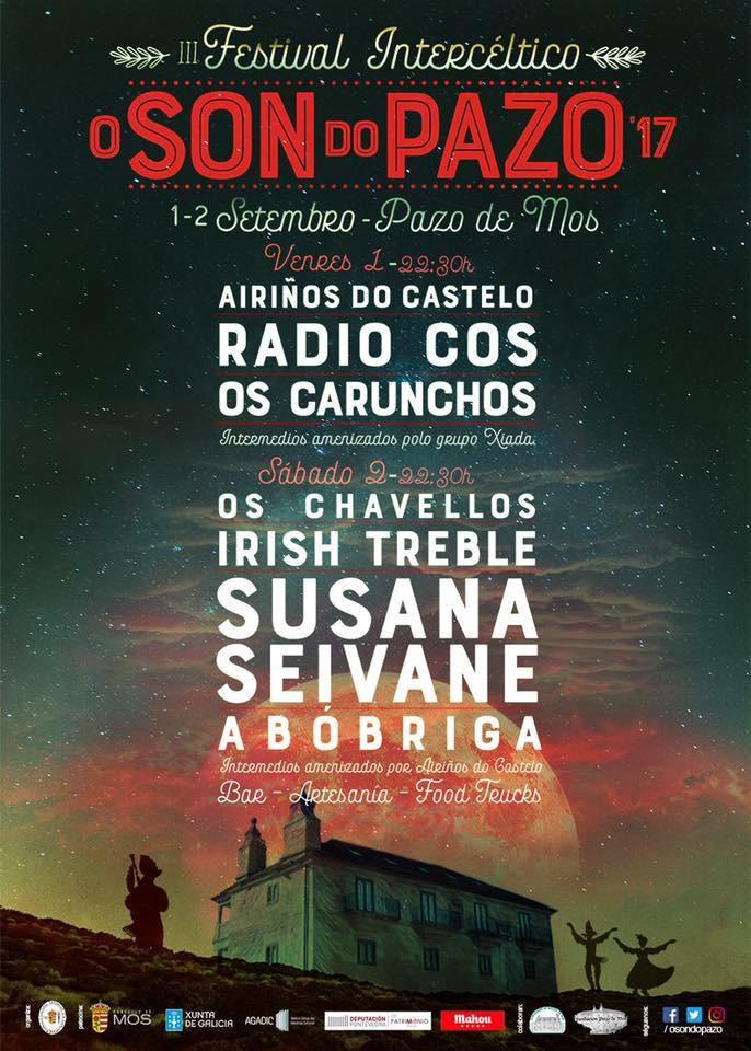 """El festival """" O Son do Pazo"""" será el 1 y 2 de septiembre"""