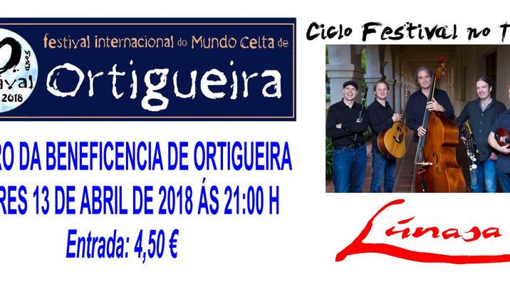 Lúnasa presenta su nuevo disco en Ortigueira el 13 de abril