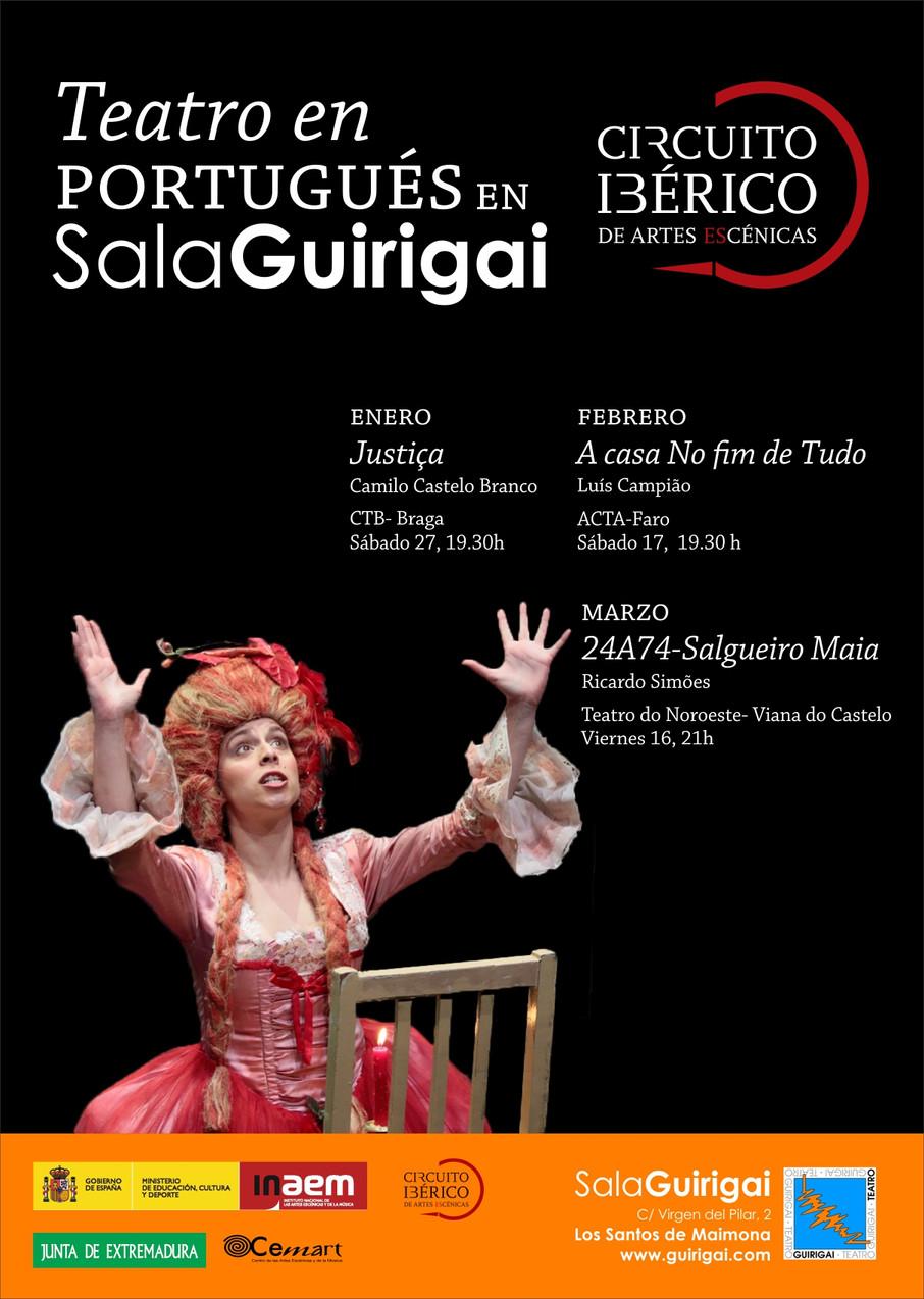 Circuito Ibérico de teatro en la Sala Guirigai (Los Santos de Maimona, Badajoz)