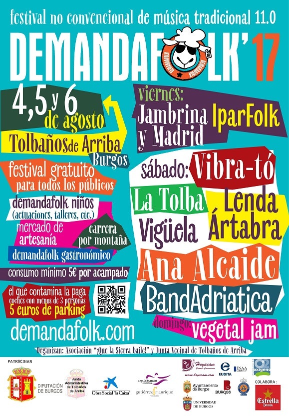 DEMANDA FOLK 2017