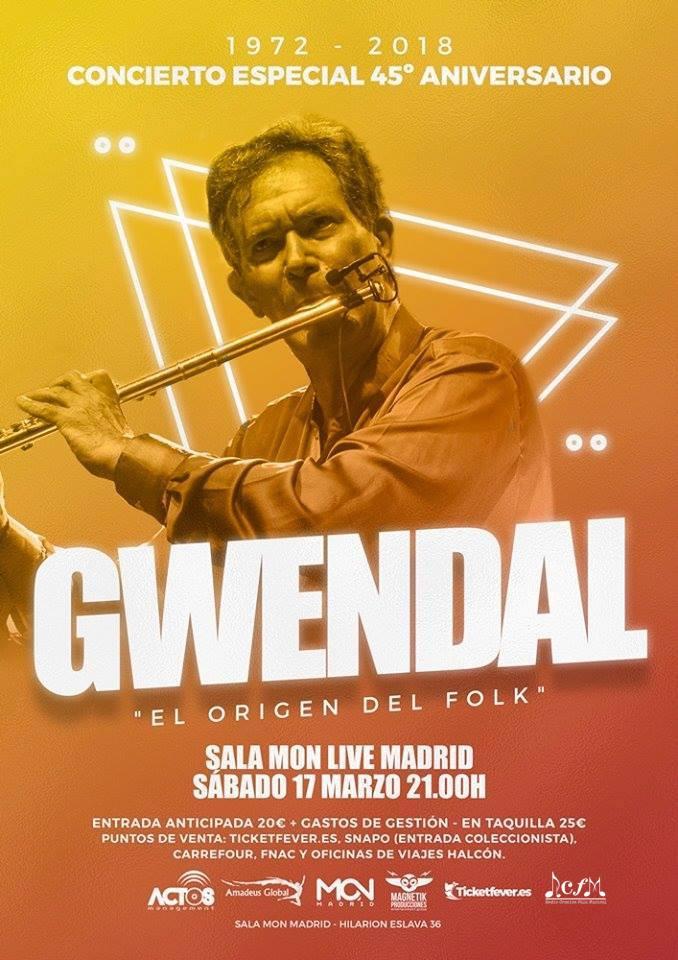 RCFM Radio Oficial de la Gira del 45º Aniversario de GWENDAL