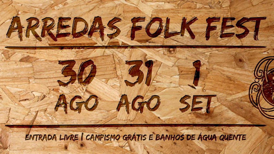 Fechas ARREDAS FOLK FEST 2018