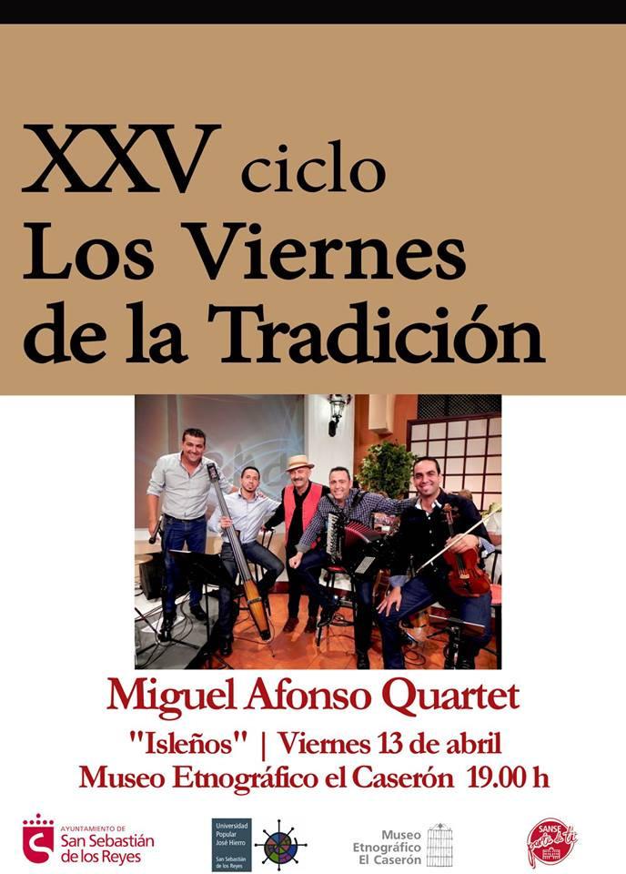 """MIGUEL AFONSO en """"Los Viernes de la Tradición"""""""