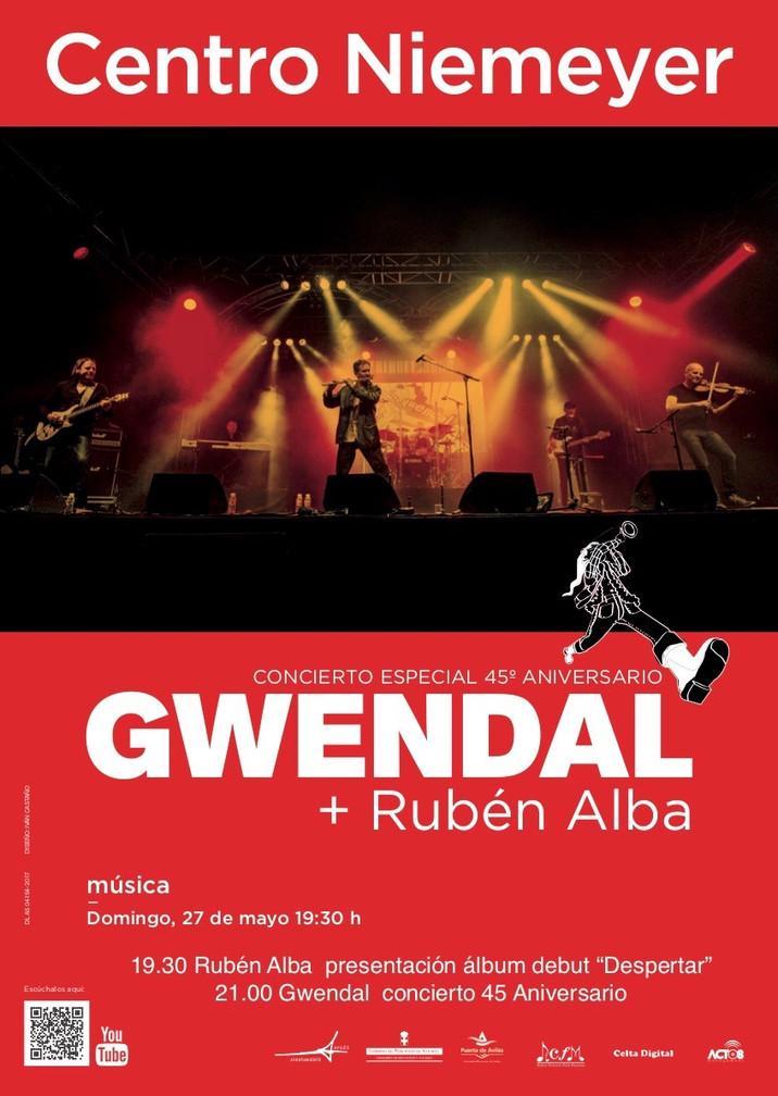Nueva fecha en la gira del 45º aniversario de Gwendal