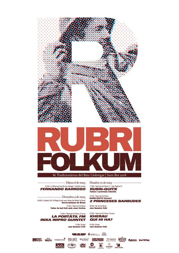 RCFM Radio colaboradora del Festival Rubrifolkum de Sant Boi de Llobregat (Barcelona)