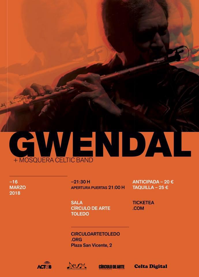 Gwendal hoy en Toledo
