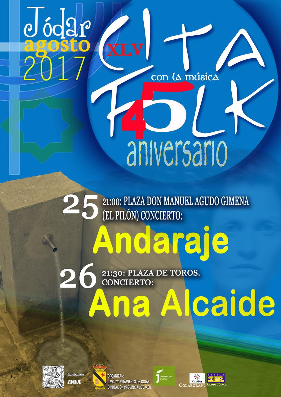 XLV Cita Folk de Jódar (Jaén)