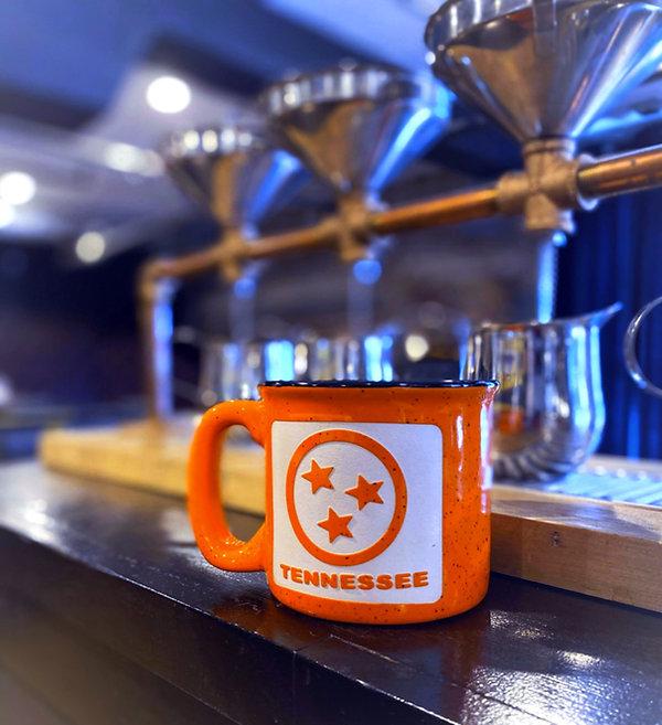 Nashville sandblasted drinkware