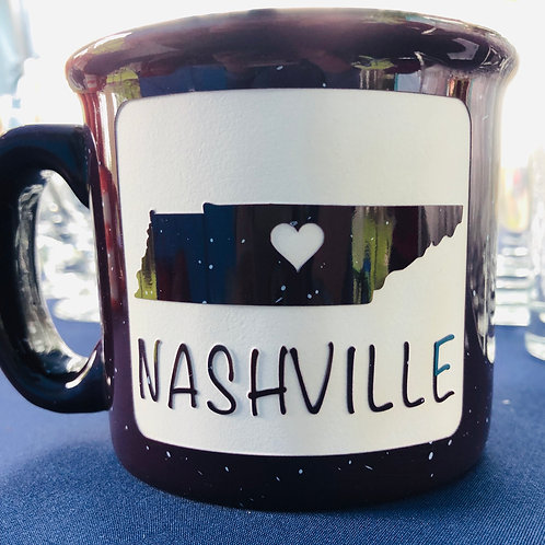 Heart Nashville-Purple