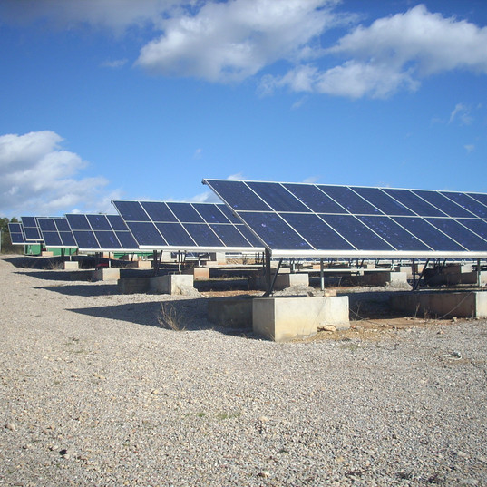 huerto solar 600 kW
