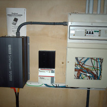 instal solar aislada