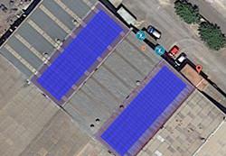 instal 100kW nave industrial