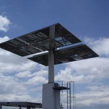 seguidor solar campo torre