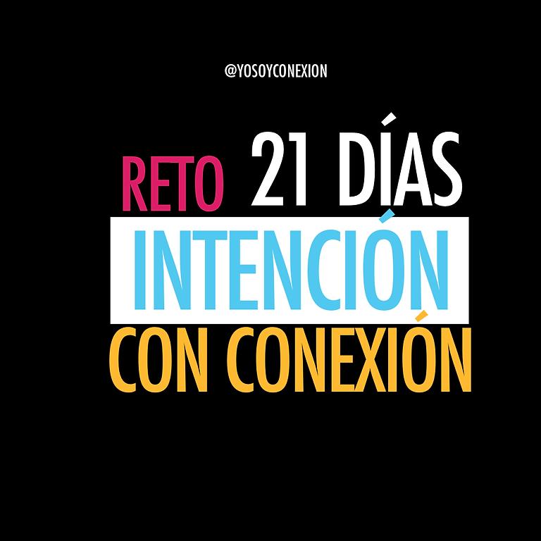 RETO GRATIS 21 DIAS INTENCIÓN