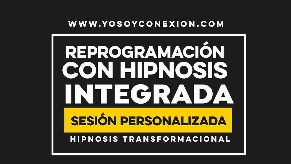 Reprogramación con Hipnosis