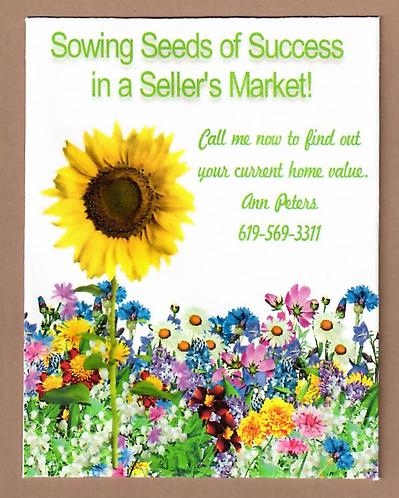 Sellers Market Wildflower Seed Packet