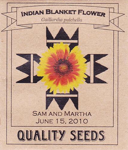 Indian Blanket Flower Seeds