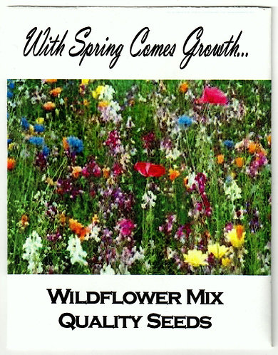 Wildflower Meadow Seed Packet
