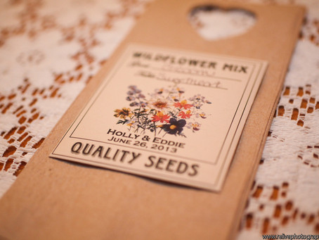 Love is in Bloom! See our Seeds in Beautiful Weddings.