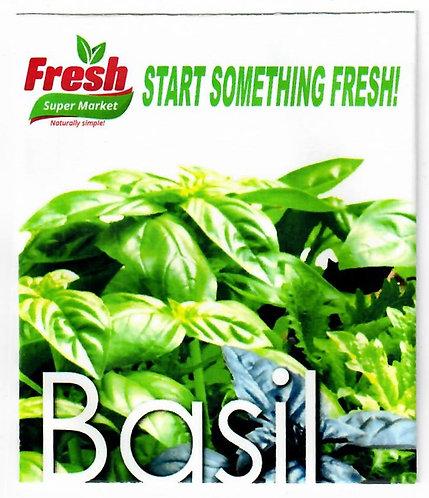 Basil Fresh Seed Packet