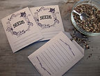 Printable Seed Savers Seed Packet