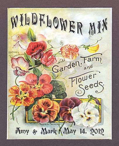 Pansy Design Wildflower Seeds