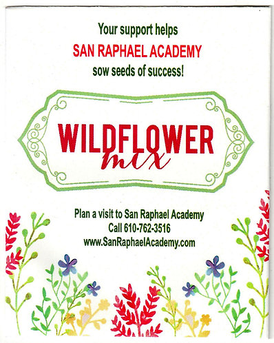 Watercolor Wildflower Seed Packet