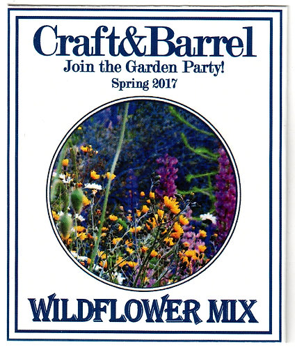 Circle of Wildflower Seed Packet