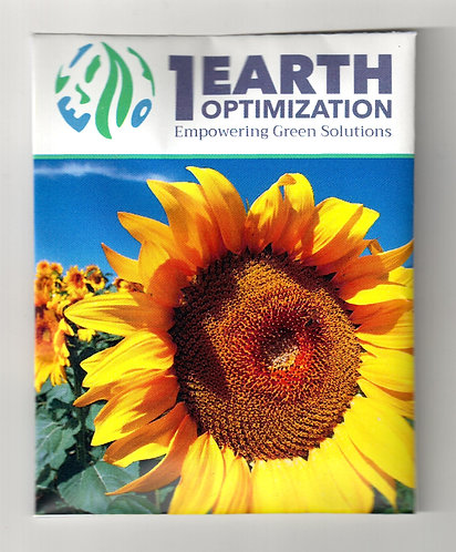 Sunflower Logo Seed Packet