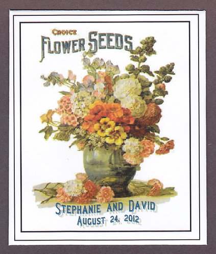 Choice Flower Seed Packet