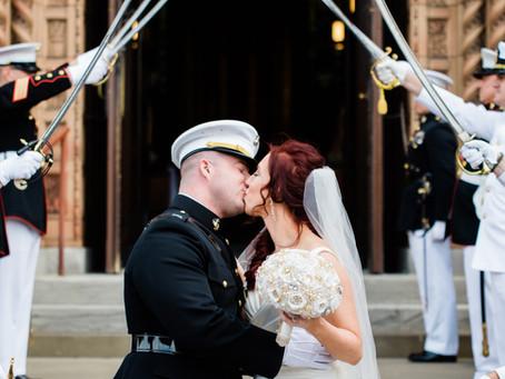 Phil & Katie | Elegant Wedding Photography in Downtown St. Louis | Black Tie Weddings
