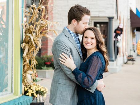 Rebecca & Cary | Engagement Session | Eureka Main St.