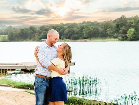 Sara & Brian | Engagement Photography | Hillsboro, Missouri