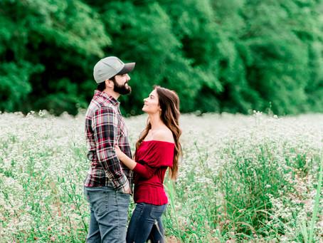 Kyle & Brea | Engagement Photography | Hillsboro, MO