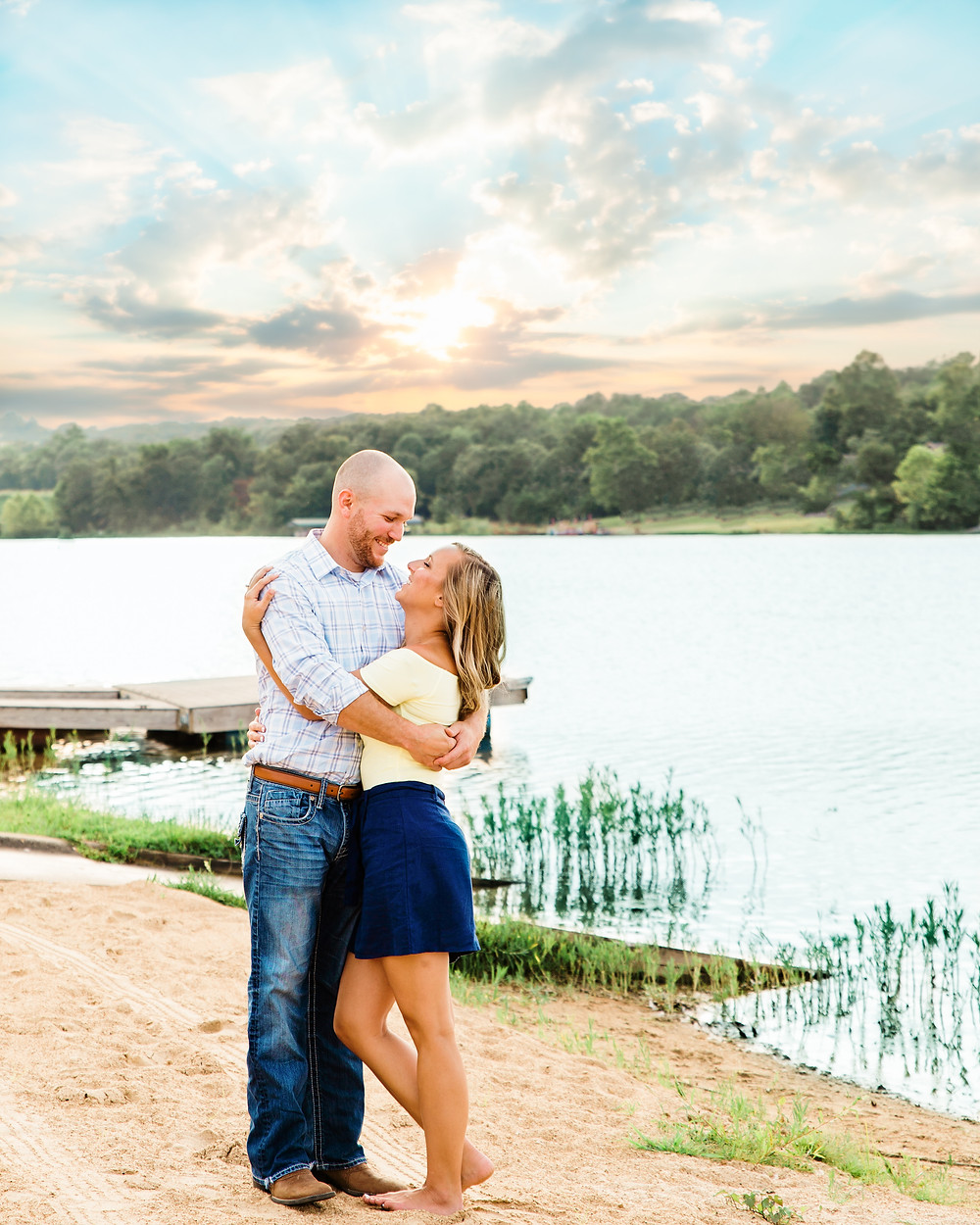 Wedding Photographer St. Louis | Beach Engagement Session