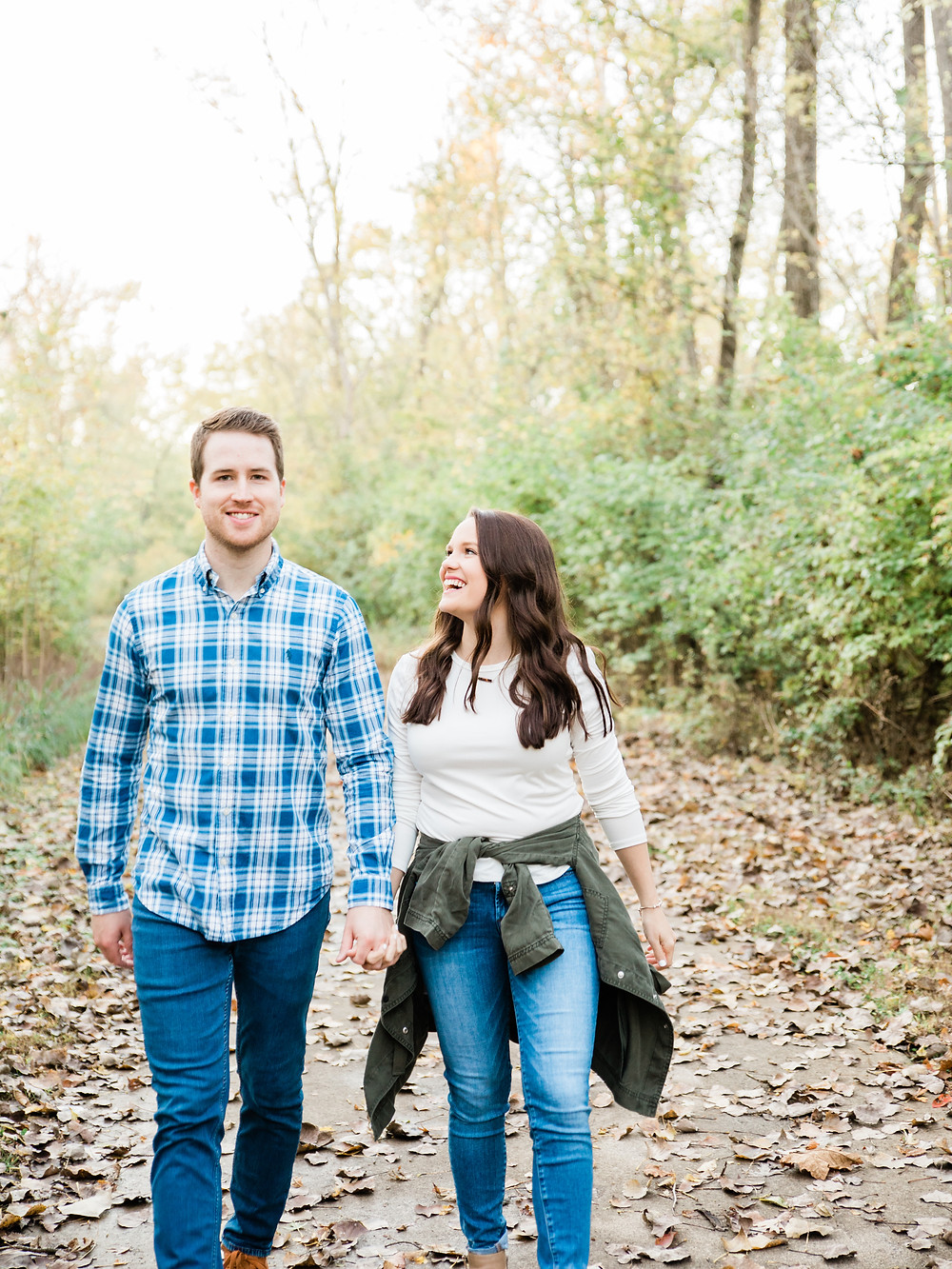 Eureka Missouri Engagement Session | St. Louis Missouri Wedding Photographer | Forest Engagement Session