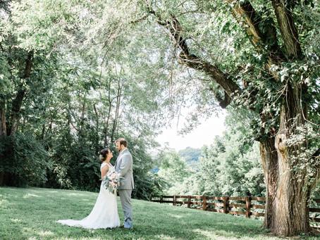 Intimate Wedding at Chandler Hill Vineyards in Defiance, Missouri