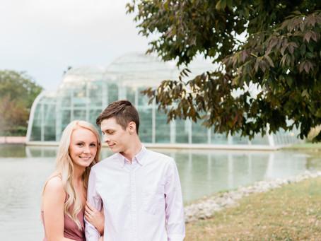 Samantha & Brenden | Engagement Session | Faust Park | St. Louis, Missouri