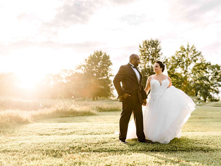 Mr. & Mrs. Gray| Andre's Sunset Hills | Black Tie Weddings & Events | St. Louis Wedding Photographer