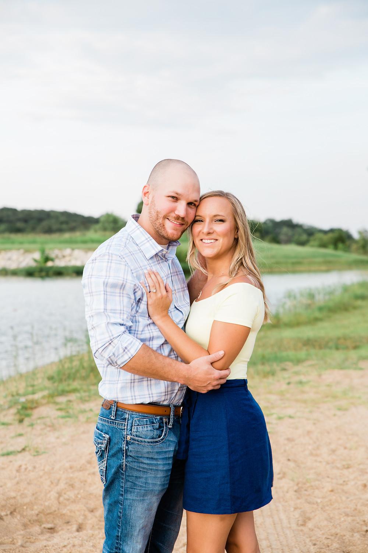 Lake Engagement Session | Jefferson County Missouri Engagement Photographer