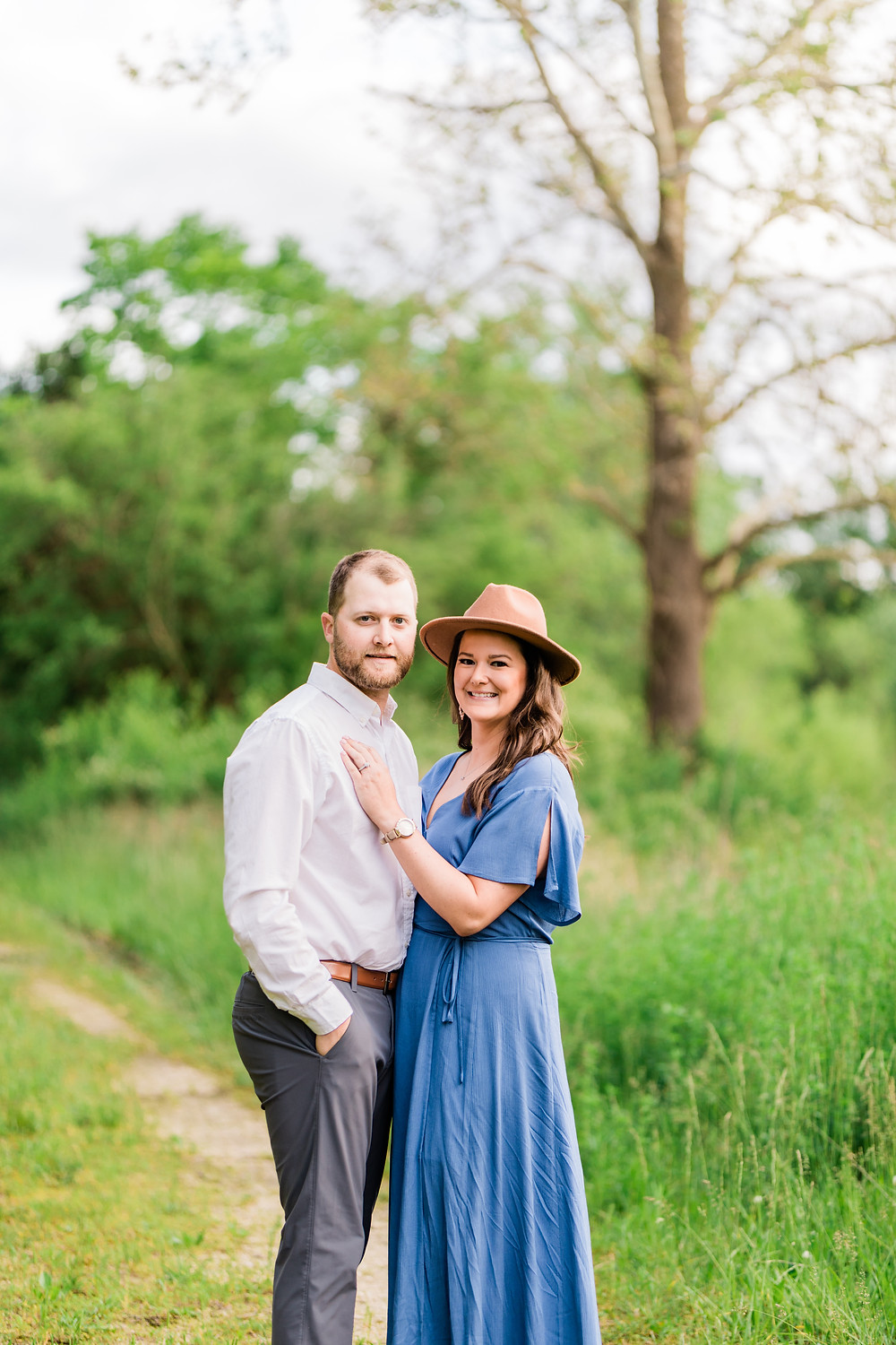 Busch Wildlife Engagement Session  Engagement Photographer St. Charles Missouri  Summer engagement session  Black Tie Weddings & Events