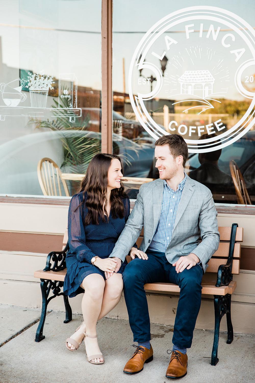 Eureka Missouri Engagement Session | St. Louis Missouri Wedding Photographer | Main Street Engagement Session