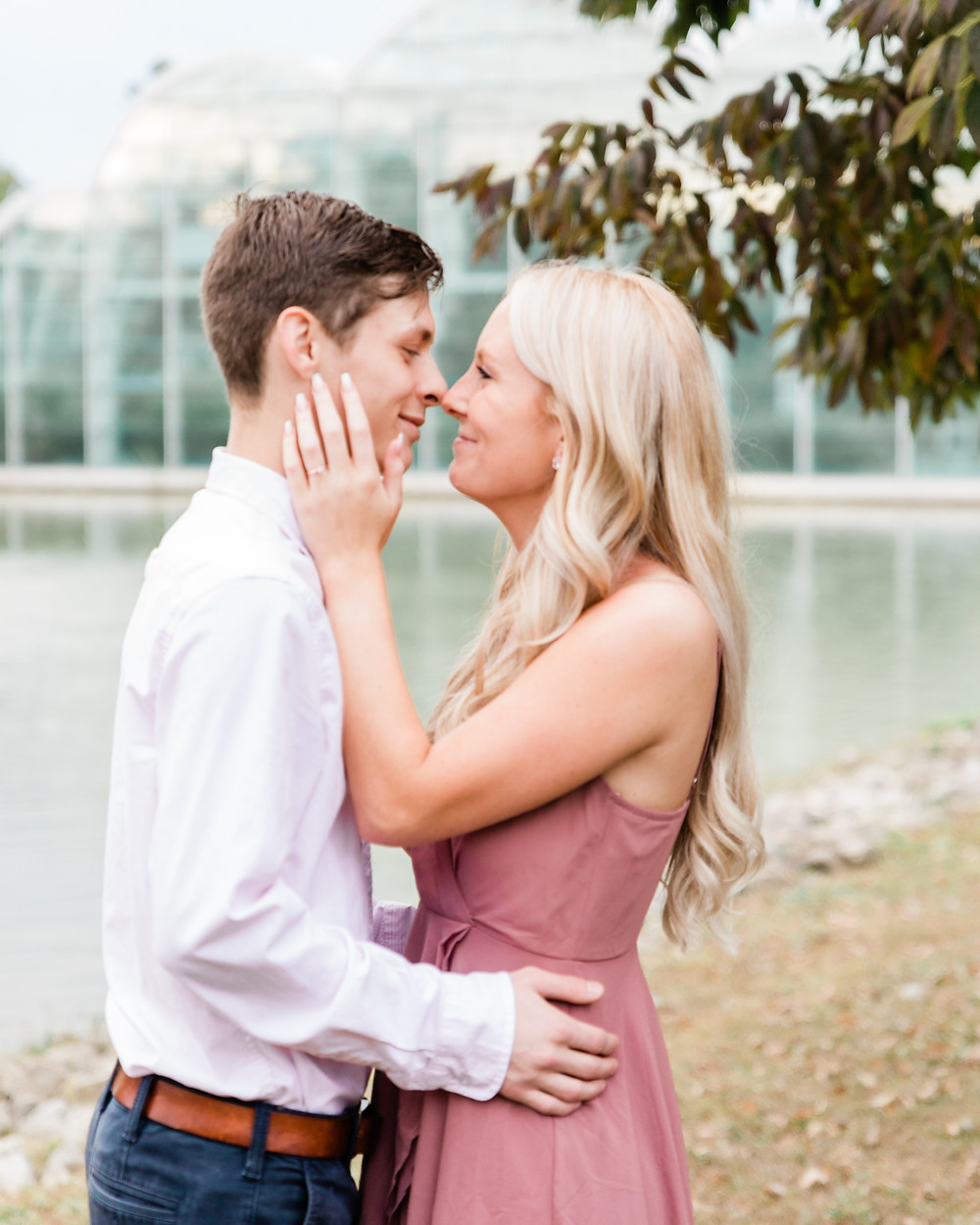 St. Louis Engagement Session | Faust Park Engagement Session | Butterfly House Engagement Session | St. Louis Wedding Photographer