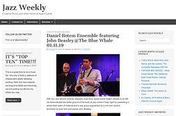 Daniel Rotem Ensemble at Blue Whale Jazz Weekly Review