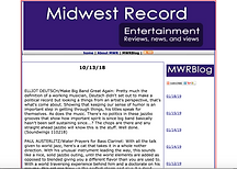 Serenading the Future - Midwest Record Review