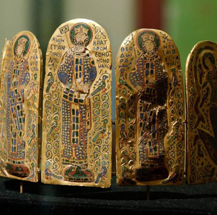 Crown of Byzantine Emperor Constantine IX Monomachos, c.1042