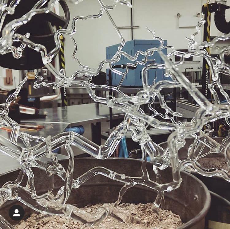 Borosilicate Glass Trees